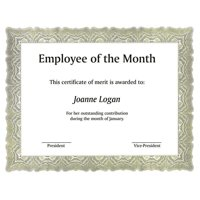 St. James® Award Certificates, Bond Paper, Green, 100/Pack