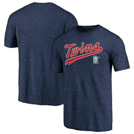 Minnesota Twins Majestic Cooperstown Collection Series Sweep Tri-Blend T-Shirt - (Minnesota Twins 1991 World Series Collectors Edition)