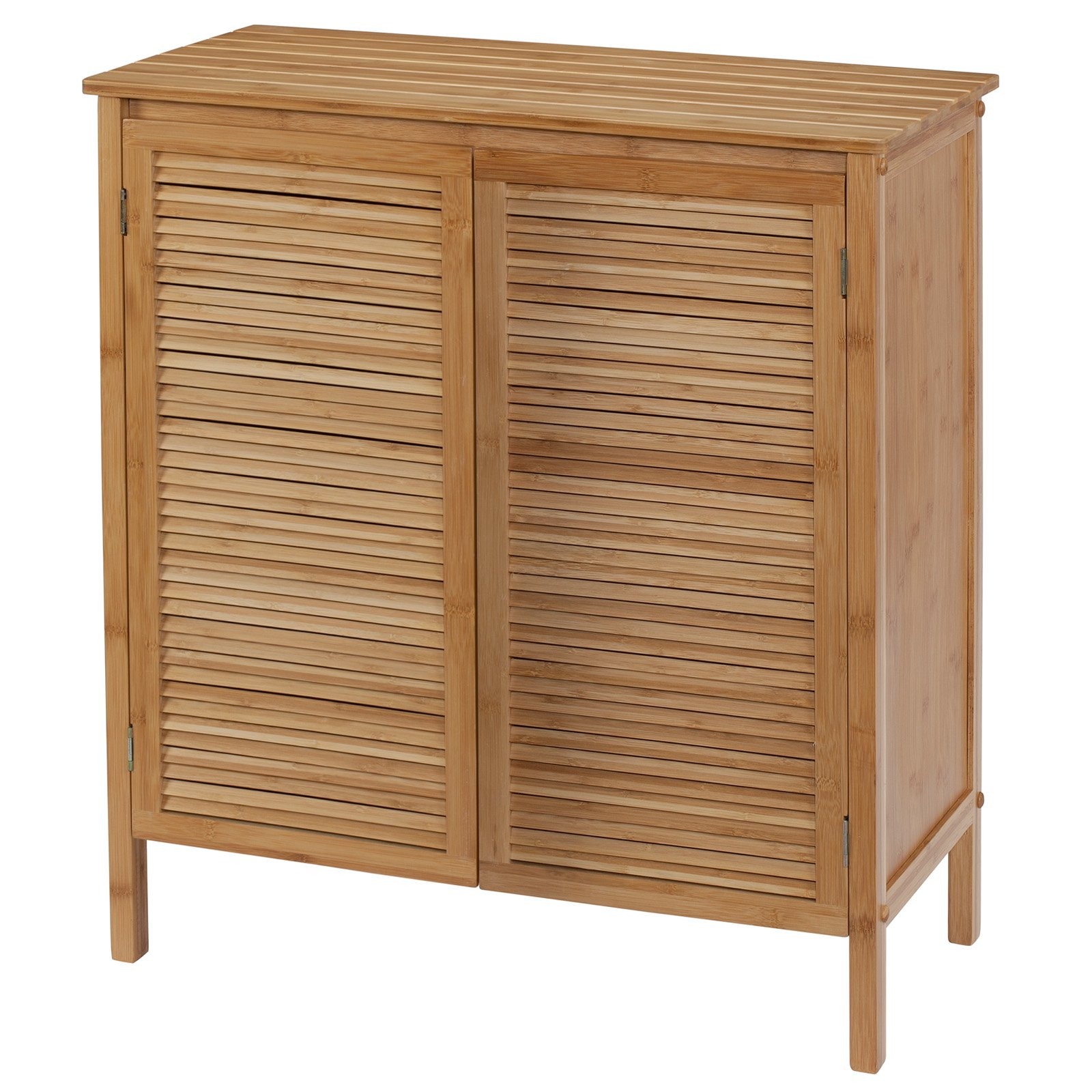 Creative Ware Home Ecostyles Louver 2 Door Floor Cabinet