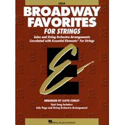 Essential Elements Broadway Favorites for Strings - Cello (Paperback)