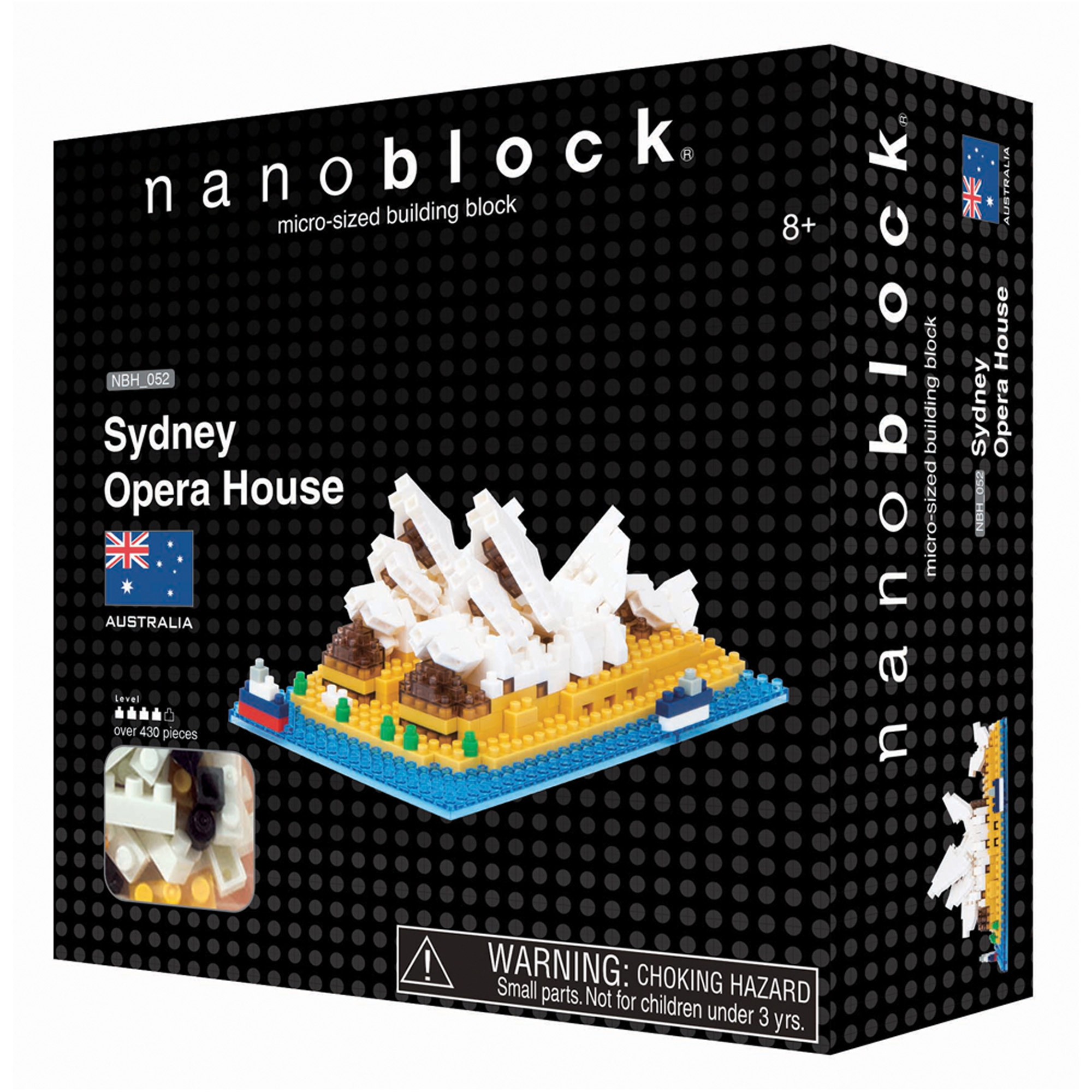 Nanoblock Sites to See Level 4 Sydney Opera House Puzzle, 430 Pieces by Ohio Art
