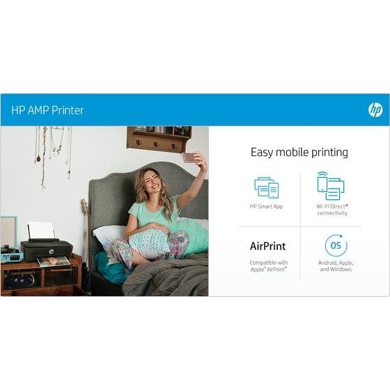 HP AMP 100 Printer with built-in Bluetooth speaker - Walmart com Exclusive