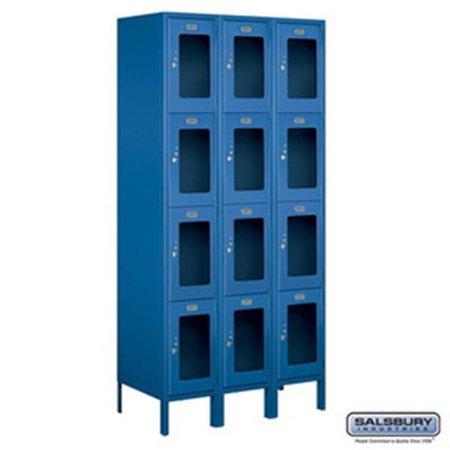 Salsbury Industries 3755P-GLD Replacement Door & Tenant Lock 4C Horizontal Parcel Locker for Standard 5 High Unit - PL5 with 3 keys, Gold
