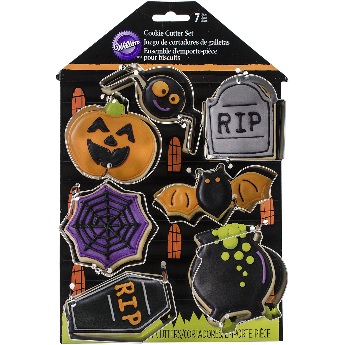 Cookie Cutter Set 7pcs-Haunted House