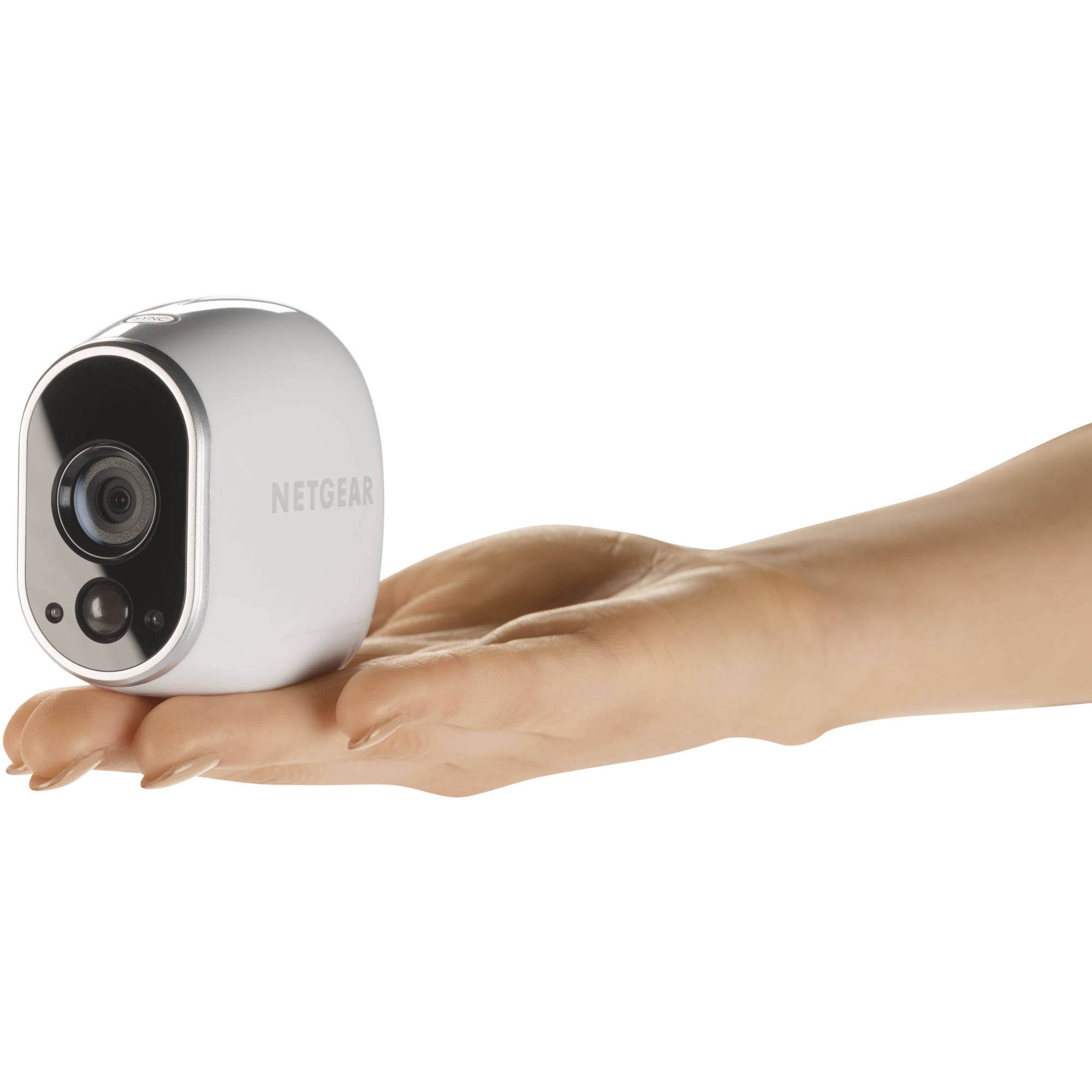 Arlo by Netgear Security Cameras 3 HD Cameras Security System, 100 ...