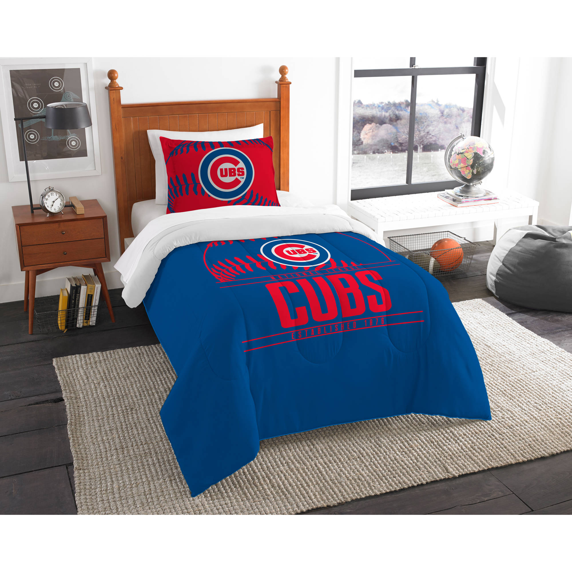 "MLB Chicago Cubs ""Grand Slam"" Bedding Comforter Set"