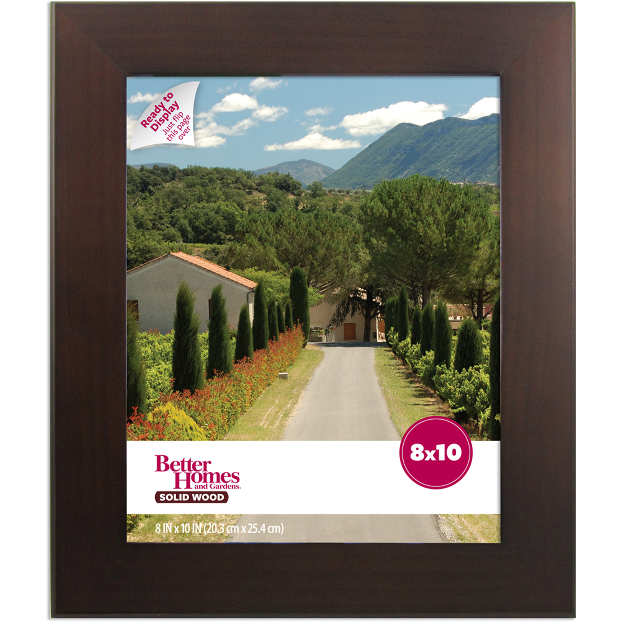 Canopy 11x14 picture frame mahogany walmart jeuxipadfo Image collections
