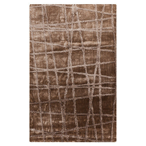 Surya Graph Silver Cloud & Brindle Area Rug