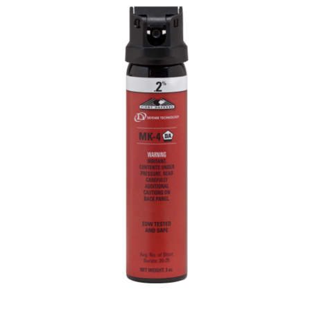 Defense Technology 5049 First Defense Mk 4 Stream  2  White 3Oz Pepper Spray