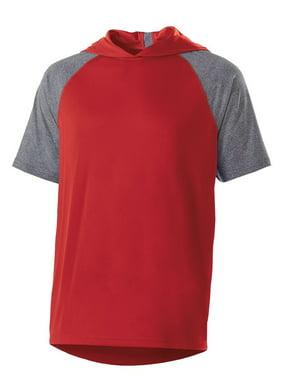 Augusta Sportswear Men's Echo Short Sleeve Hoodie
