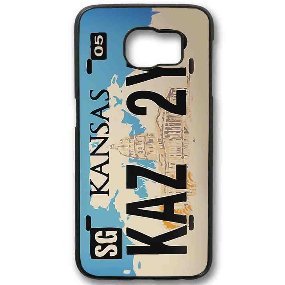 Ganma Supernatural KAZ 2y5 License Plate Case For Samsung Galaxy Case (Case For Samsung Galaxy S5 White)