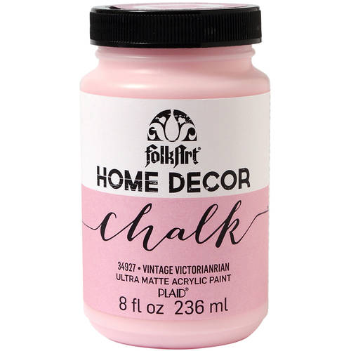 FolkArt Home Decor Chalk Paint 8oz Walmartcom