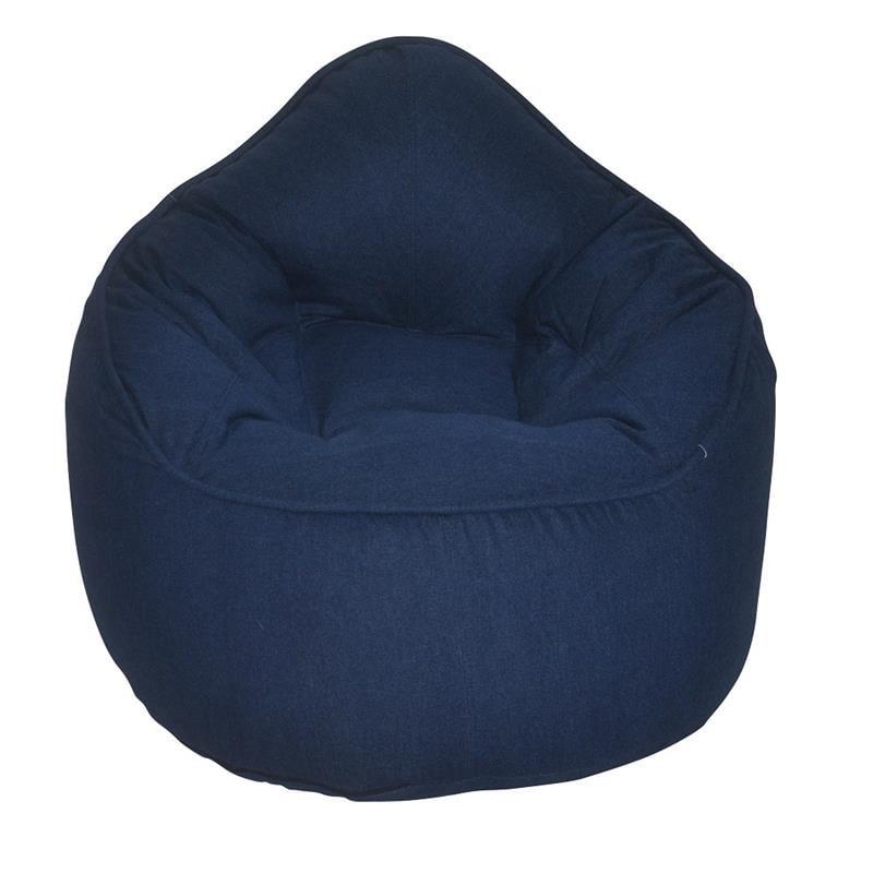 (Set of 2) Bean Bag Chair in Jean | Walmart Canada