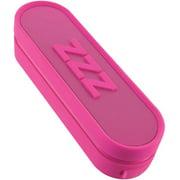 iHome Im14pc Jumbo Snooze Bar Alarm Clock with USB Charging, Pink