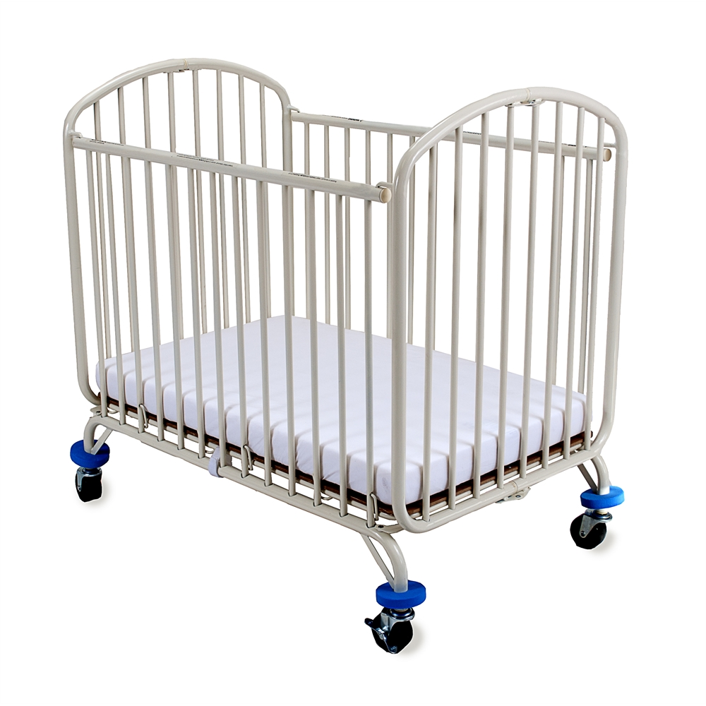 LA Baby Folding Arched Mini Portable Crib by L.A. Baby