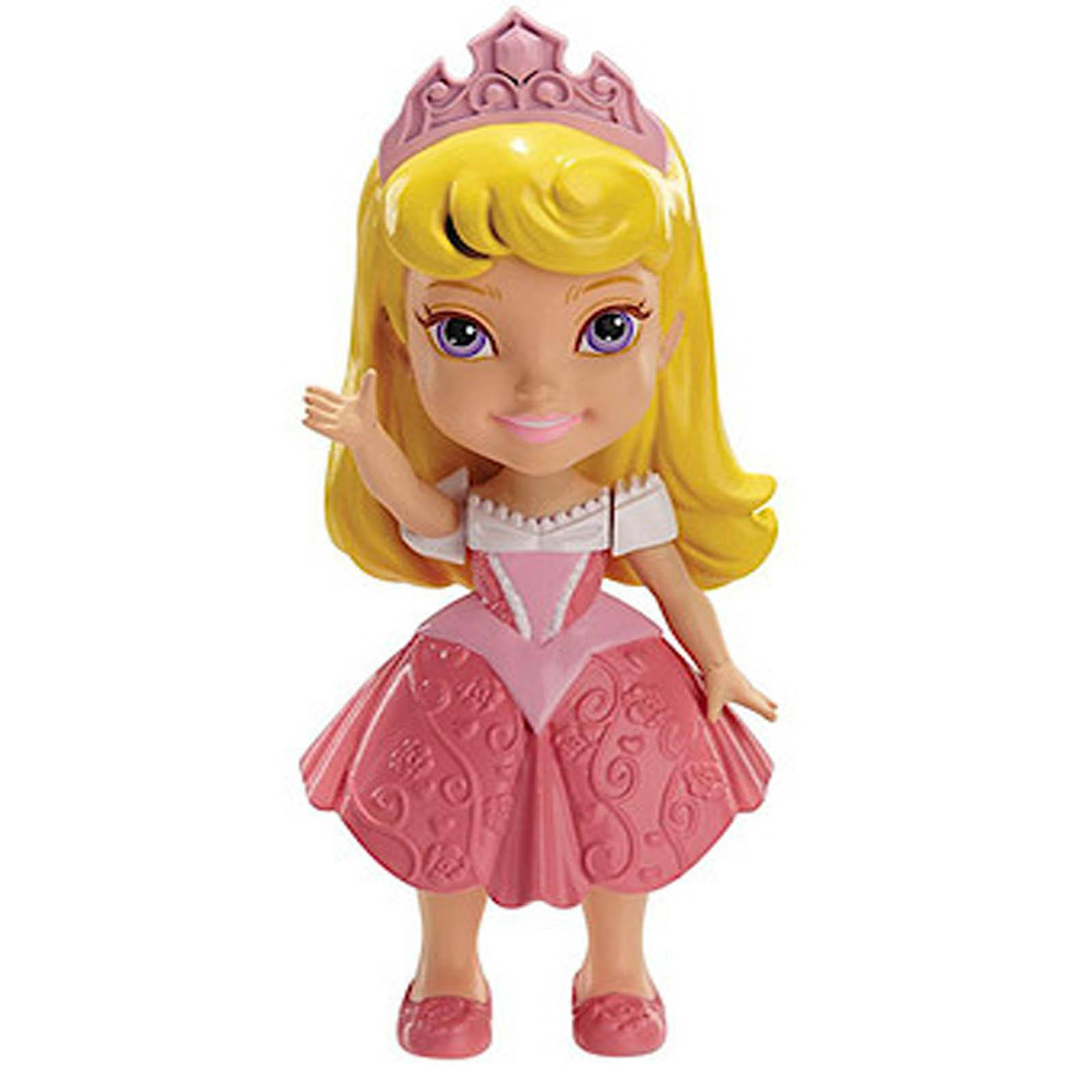 My First Disney Princess 3 inch Mini Toddler Doll - Aurora Sparkle Collection