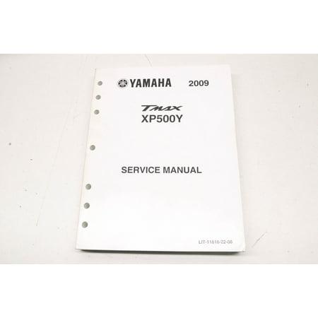 Yamaha LIT-11616-22-08 2009 TMAX XP500Y Service Manual QTY