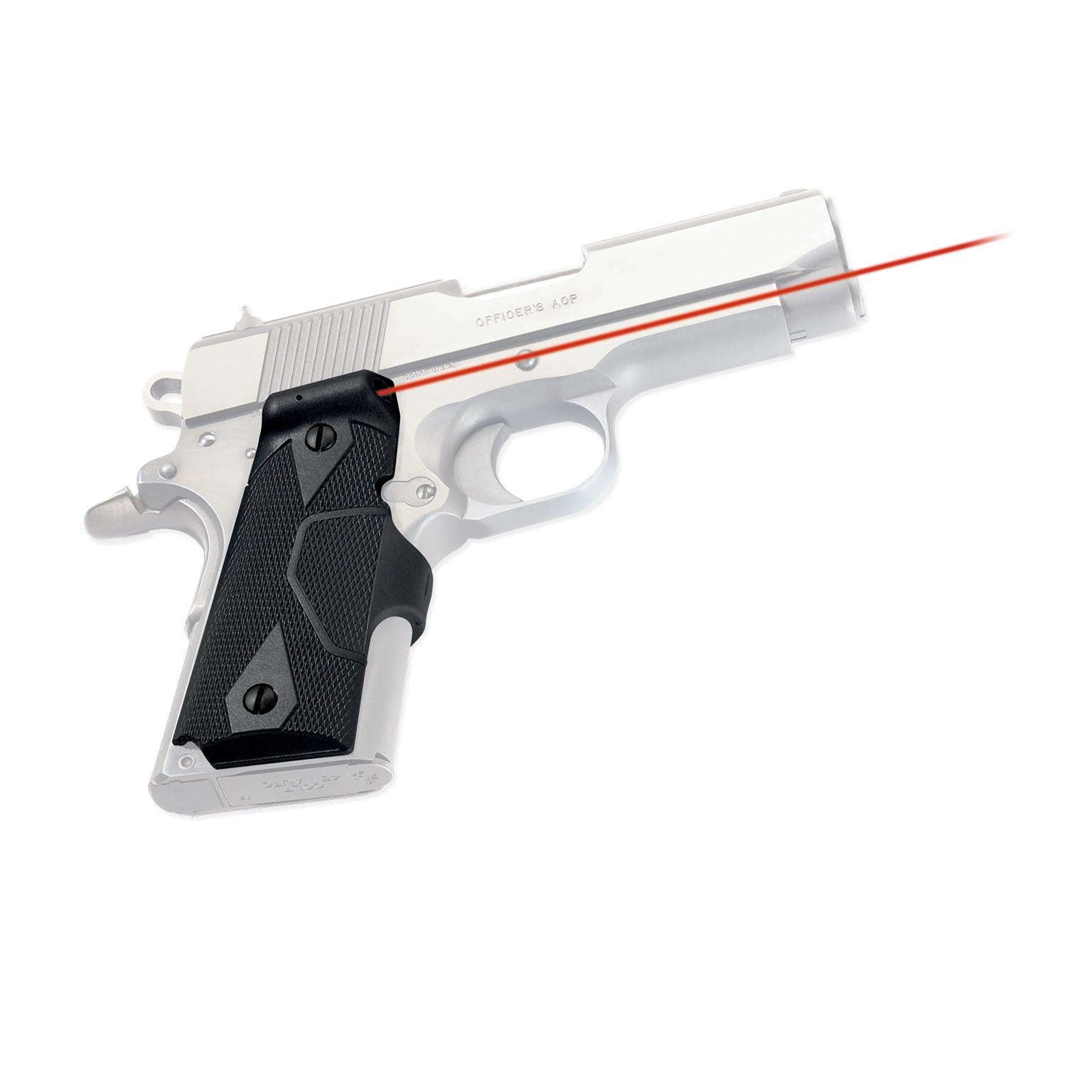 Crimson Trace LG-404 Front Activation Lasergrips for 1911 Compact