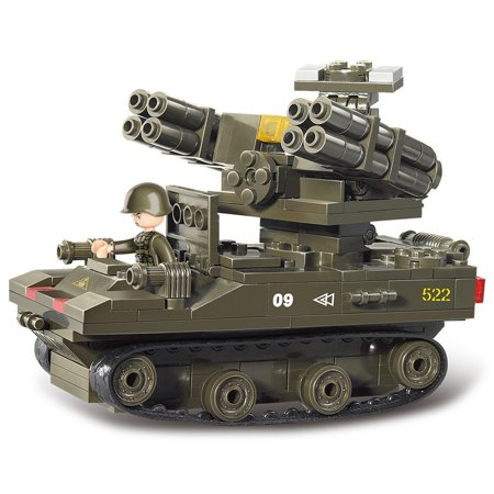 Toy Bricks (US Army M113A2 Mobile Anti-Aircraft Missile Military Building Blocks Bricks)