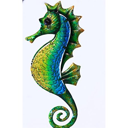Metal seahorse wall decor for Al ahram aluminium decoration