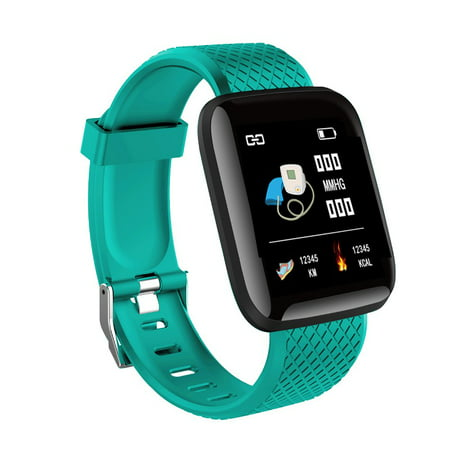 Fysho IP67 Waterproof Smart Wristband plus Color Screen Smart Watch D13 Real-time Heart Rate 1.3 Inch Large Screen Blood Pressure Sleep Smart Watch