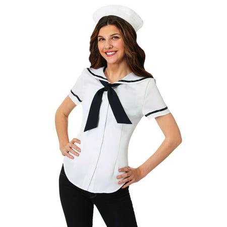 Womens Sweet Sailor Costume Set - Womens Sailor Costume