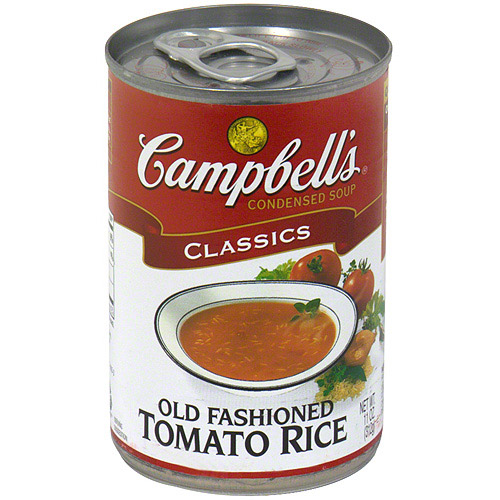 Campbell's Old Fashioned Tomato Rice Soup, 11 oz (Pack of 12)