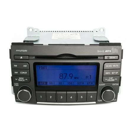 2009-2010 Hyundai Sonata AM FM Radio mp3 CD Satellite Capable Part 96185-3K100 - Refurbished