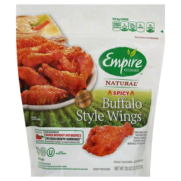 Empire Iqf Buffalo Style Wings