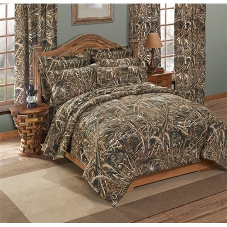 Realtree Max 5 Camo 7 Pc King Comforter Set - Great for Cabin or Lodge!