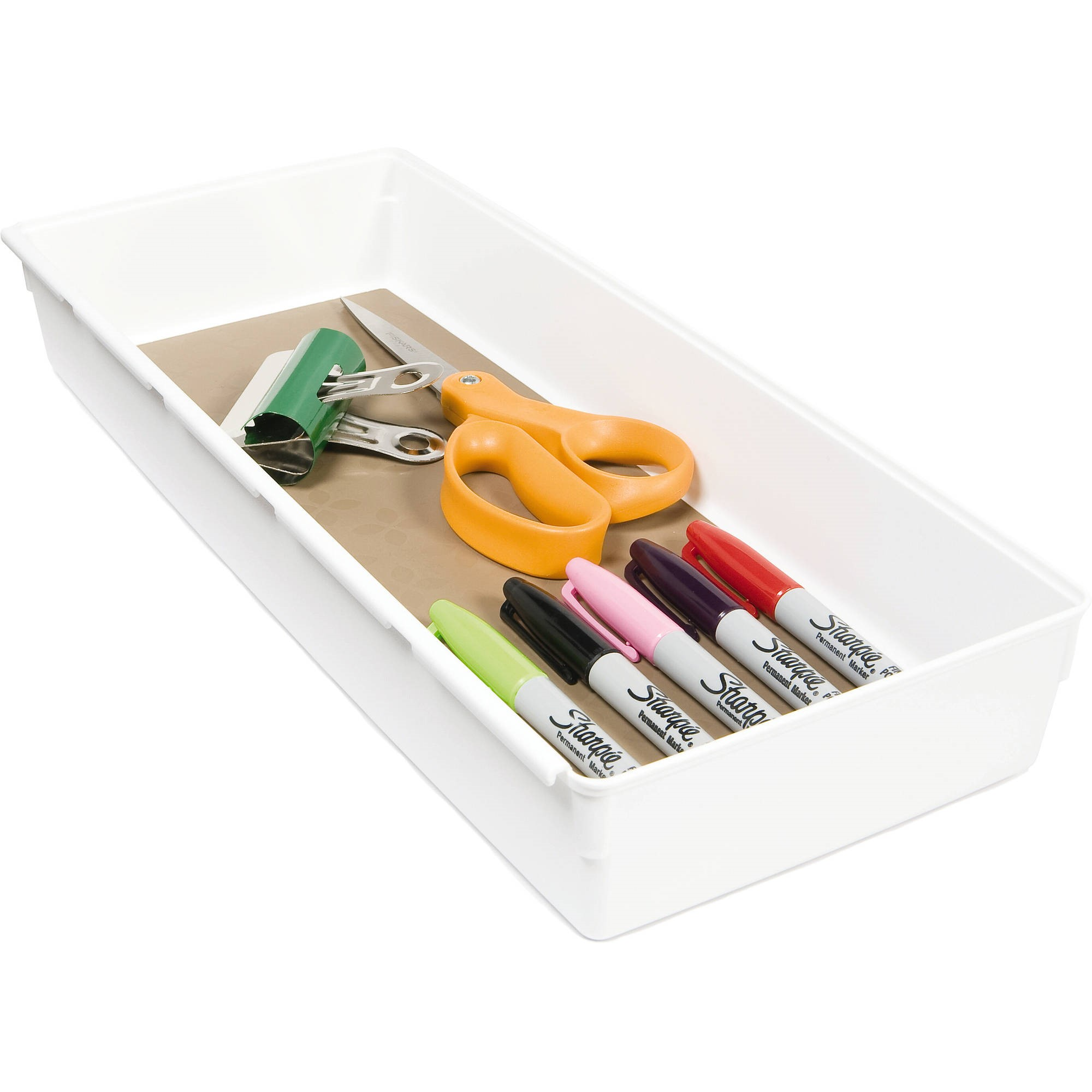 "Rubbermaid Drawer Tray, 6"" x 15"""