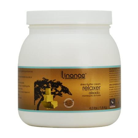 Linange Shea Butter Cream Relaxer 4 lbs /1.8 kg (Butter Relaxer)