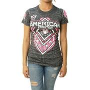 American Fighter Women's North Dakota Artisan Graphic T-Shirt