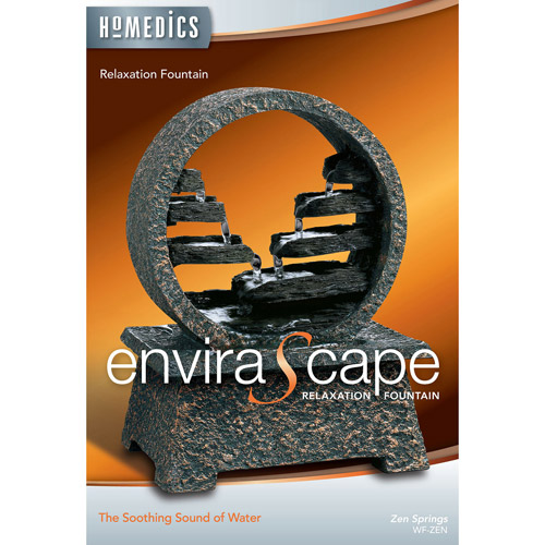 HoMedics EnviraScape Zen Springs Relaxation Fountain