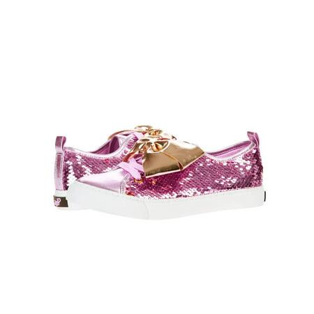 Girl's Reverse Sequins Low Top Sneaker