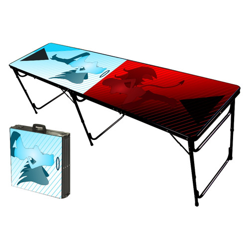 Party Pong Tables Naughty N Nice Folding And Portable Beer