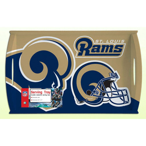 NFL - St. Louis Rams Melamine Serving Tray
