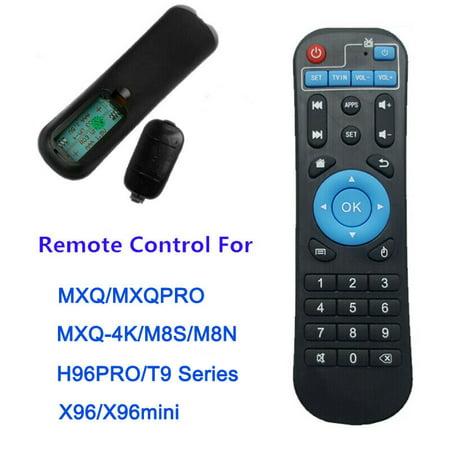 Remote Control For MXQ / MXQ Pro 4K X96 H96 T9 Android Smart TV Box Black CA