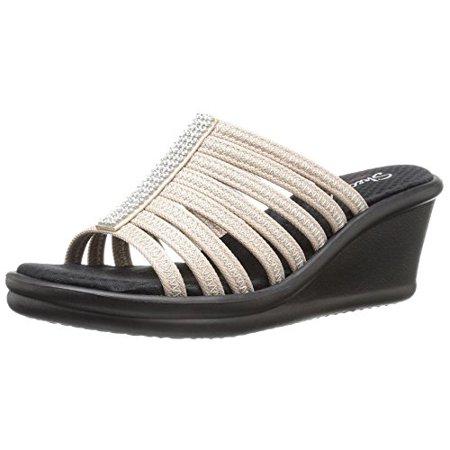 7f7232235677 Skechers - Skechers Cali Women s Rumblers Hot Shot Wedge Sandal ...