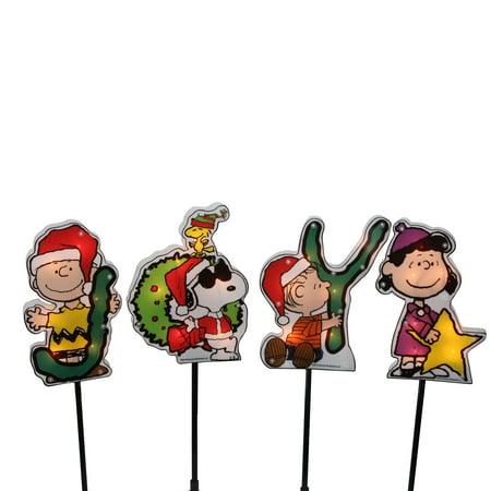 Peanuts Christmas 4ct Prelit Snoopy