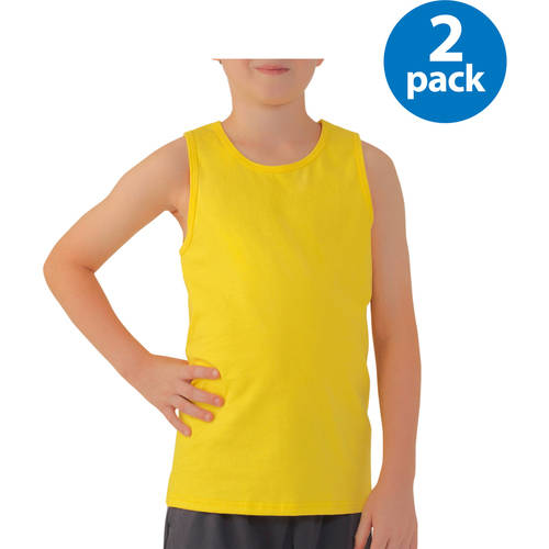Boy's Jersey Tank Top - Your Choice 2 Pack Value Bundle