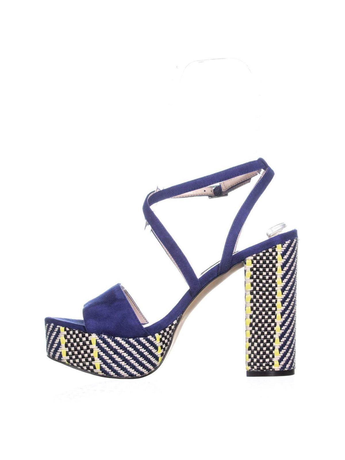 6c2477f0419 Nine West Markando Block Heel Platform Strappy Sandals