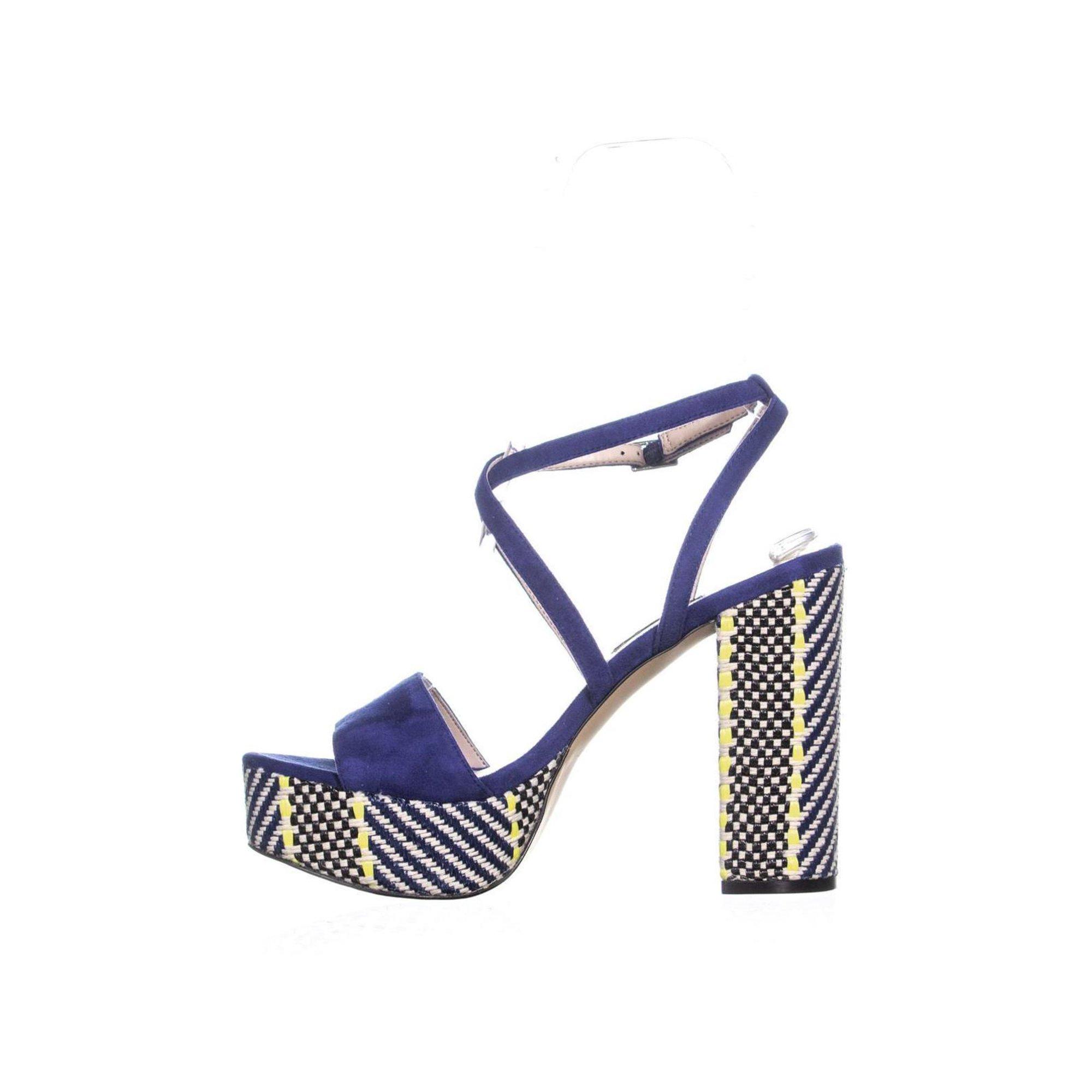 b84e6de404b8 Nine West Markando Block Heel Platform Strappy Sandals