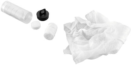 New BikeMaster 50 Pack of Compact Cloth Compressed Towelettes