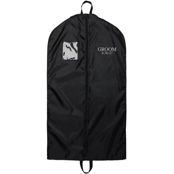 Mr Groom Personalized Wedding Garment Bag