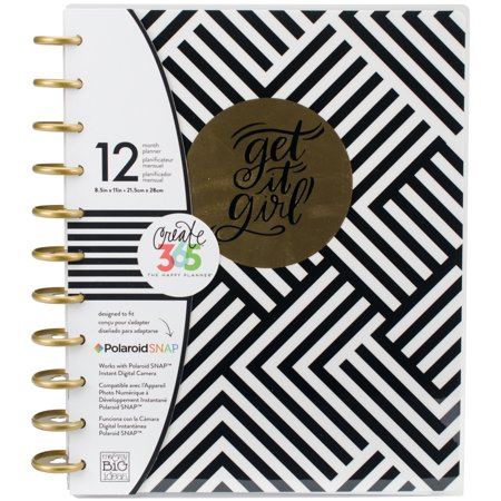 Create 365 12 - Month Undated Planner 9.25