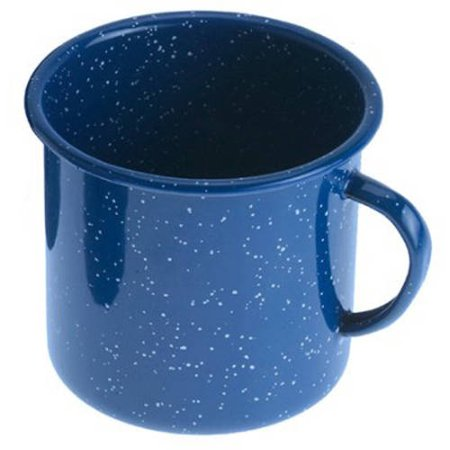 Gsi Outdoors Cup - GSI Enamelware Cup, 12 oz, Blue