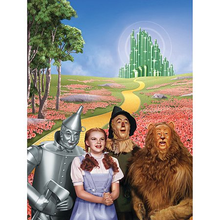 Masterpieces Jigsaw Puzzle Classics Collection, The Wizard Of Oz, 1000-pieces