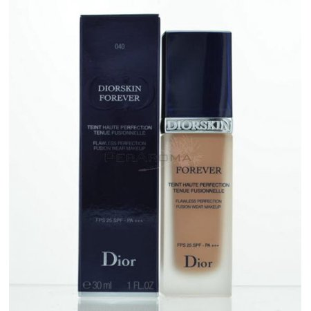 Diorskin Forever Flawless Perfection Fusion Wear Makeup SPF 25 # 050 Dark Beige by Christian Dior for Women - 1 oz Foundation ()