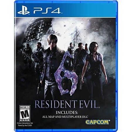 Resident Evil 6, Capcom, PlayStation 4 (Resident Evil Halloween Horror Nights)
